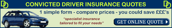Convicted Driver Insurance Quotes